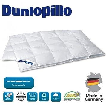 Sommerdecke 135x200cm Daunendecke Dunlopillo Premium Leicht Plus