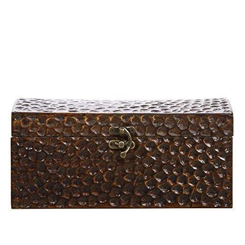 Hosley Decorative Honeycomb Storage Box - 9