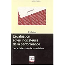 evaluation et les indicateurs de performance activites info-documentaires