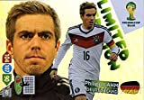 2014 Panini Adrenalyn World Cup EXCLUSIVE Philipp Lahm Limited Edition MINT Card of World Cup Champion Germany ! Shipped in Ultra Pro Snap Card Holder to Protect it!