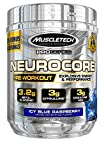MuscleTech NeuroCore, Icy Blue Raspberry Explosive Pre Workout, 36 Servings