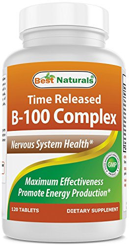 (Best Naturals B-100 Complex 120 Tablets (Time)