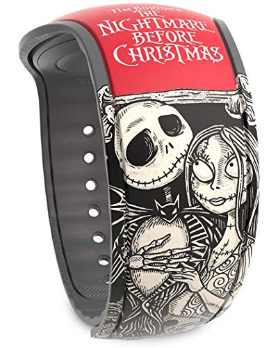 Disney Parks MagicBand 2.0 - Link It Later Magic Band - Jack and Sally ()