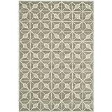 Safavieh Issac Mizrahi Collection IMR506B Handmade Dark Grey and Taupe Premium Wool Area Rug (4′ x 6′)