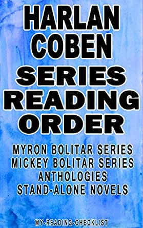 HARLAN COBEN: SERIES READING ORDER: MY READING CHECKLIST