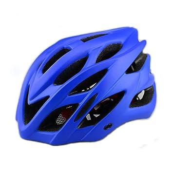 Bicicleta Casco LED Luces Traseras Y Visera De Sol Insecto Malla ...