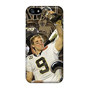 Slim Fit Tpu Protector Shock Absorbent Bumper New Orleans Saints Case For Iphone 5/5s