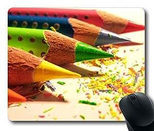 Beautiful Colour Pen Rectangle mouse pad