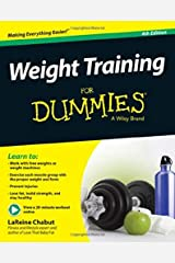 Weight Training For Dummies Paperback