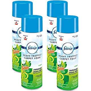 Febreze Heavy Traffic Carpet Foam, Gain, 22oz (Pack of 4), 14399