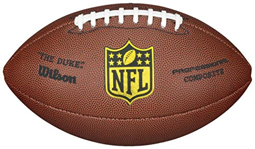 Wilson Nfl Duke Professional Composite Leather Replica American Football Ball by Sportsgear US
