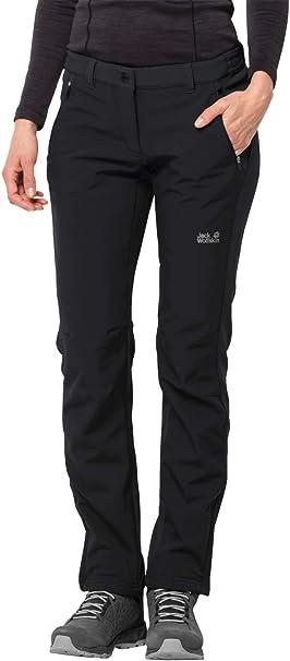 Jack Wolfskin Damen elastische Softshellhose Zenon Softshell Pants Women