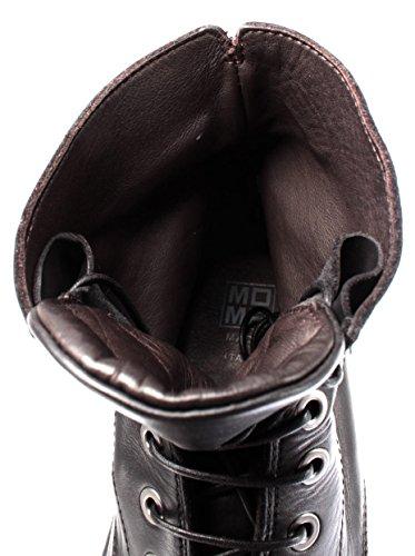 Nero Pelle Resistant Sole Black MOMA R1 Oil Stivaletti Scarpe Italy Uomo 67701 xcOfgq1