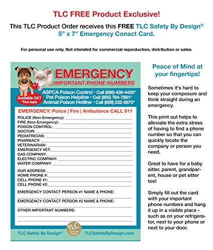 image regarding My Dog is Home Alone Card Printable named TLC Protection Through Layout 4 Pk My Animals Doggy Cat are Property By itself Warn Crisis First Trademarked ICE Identity Make contact with Wallet Card 32 Pt. Large Bodyweight Card