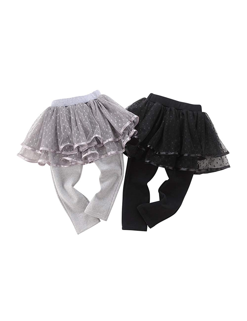 Zhhlinyuan Baby Girls Leggings Trousers Cotton Long Pants for 1-3 Years Girl