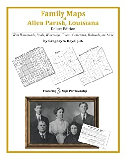 Family Maps of Allen Parish, Louisiana