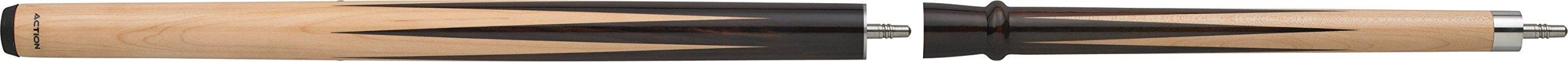 Birdseye Maple with Darker Stained Maple Splices Break Jump Cue
