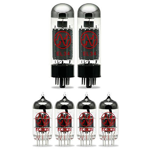 JJ Tube Upgrade Kit For Marshall JCM600 Amps w/EL34 ECC83S by J.J.