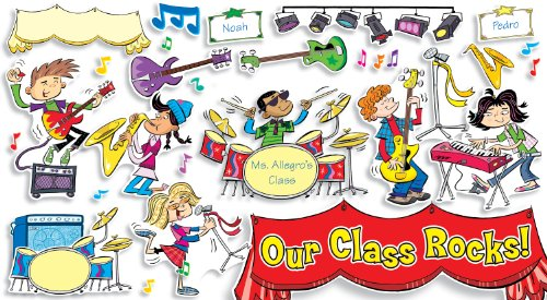 Board Music Bulletin (School Rocks! Bulletin Board)