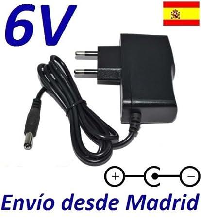 Cargador Corriente 6V Reemplazo Balanza Bascula Nahita 5041 5041/250 Recambio Replacement