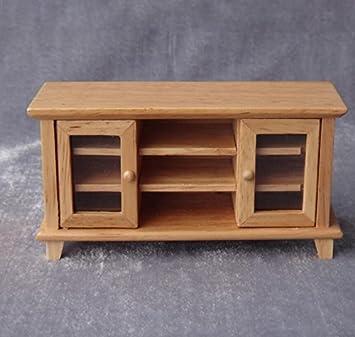 Mindruer - Mueble de Madera para televisor, diseño de muñeca en Miniatura: Amazon.es: Hogar