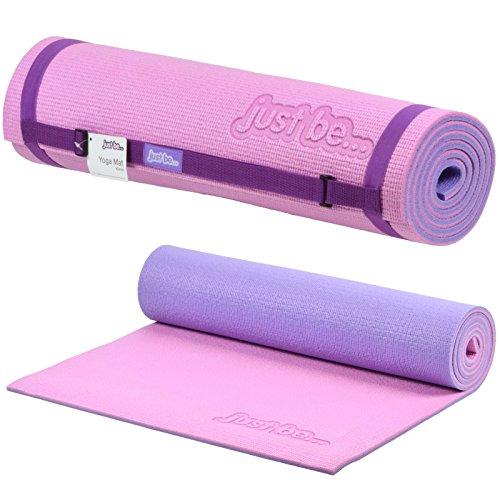 Amazon.com : just be... 180cm x 60cm x 10mm 2-Tone Yoga ...