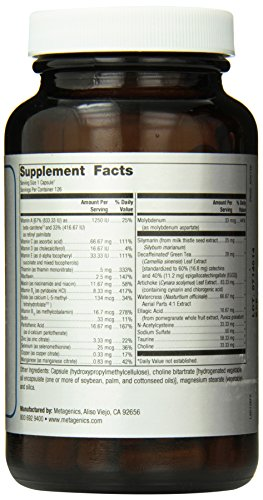 Metagenics Advaclear Capsules, 126 Count by Metagenics (Image #1)