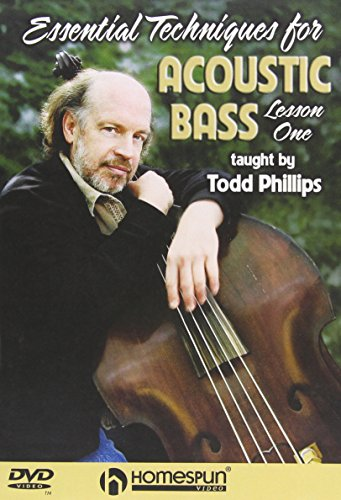 Essential Techniques for Acoustic Bass 1&2 DVD