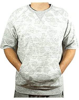 Men's SS Sweat Grey 568691 02