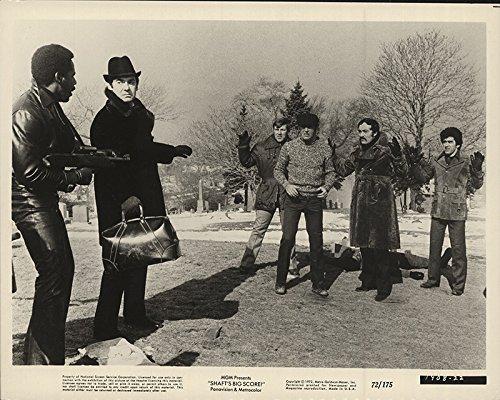 Shaft S Big Score 1972 Authentic 8 X 10 Original Movie Still Fine