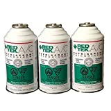 3 Cans - REDTEK A/C Refrigerant (6 Ounce Can)