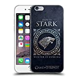 Official HBO Game Of Thrones Stark Metallic Sigils Soft Gel Case for Apple iPhone 6 / 6s