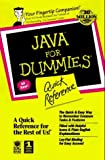 img - for Java Api for Dummies: Quick Reference by Lockwood, Stephen D., Siddalingaiah, Madhu (1997) Paperback book / textbook / text book
