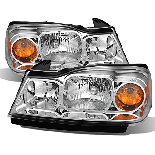- ACANII - For 2006-2007 Saturn Vue Headlights Headlamps Replacement 06-07 Driver & Passenger Driver + Passenger Side