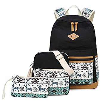 95125ae522e Joymoze Cute School Backpack for Girl Stylish Backpack Set 3 Pieces for  Women