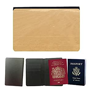 Passeport Voyage Couverture Protector // M00157355 Modelo de la arena del fondo del mar de // Universal passport leather cover