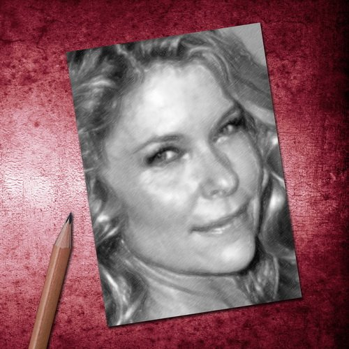 Kate Vernon - ACEO Sketch Card (Signed by The Artist) for sale  Delivered anywhere in Canada