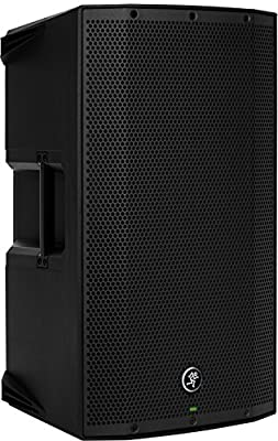 """2 Mackie Thump12BST THUMP-12BST 12"""" 1300w Active DJ PA Speakers+Hydraulic Stands from Loud Technologies Inc."""