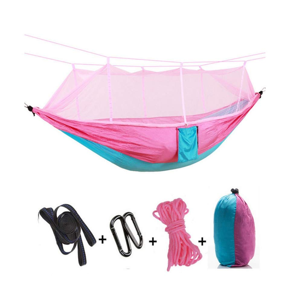 wtxinyang Moskitonetz-H/ängematte Camping Single Double Nylon Parachute Cloth