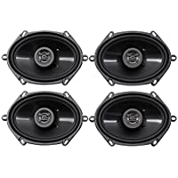 (4) Hifonics ZS5768CX 5x7 or 6x8 1000 Watt Coaxial Car Audio Speakers