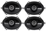 (4) Hifonics ZS5768CX 5x7'' or 6x8'' 1000 Watt Coaxial Car Audio Speakers