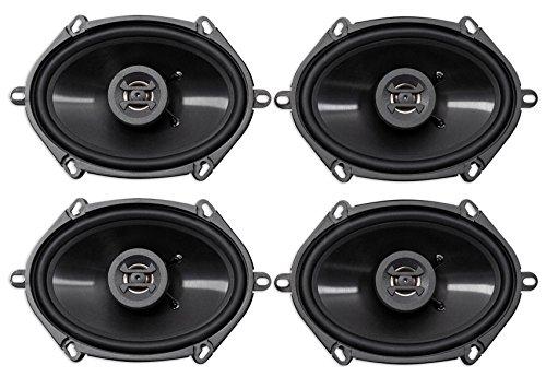 "(4) Hifonics ZS5768CX 5x7"" or 6x8"" 1000 Watt Coaxial Car Audio Speakers"