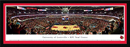 2001 Ncaa Basketball Final Four - Louisville Basketball - Blakeway Panoramas College Sports Posters with Select Frame
