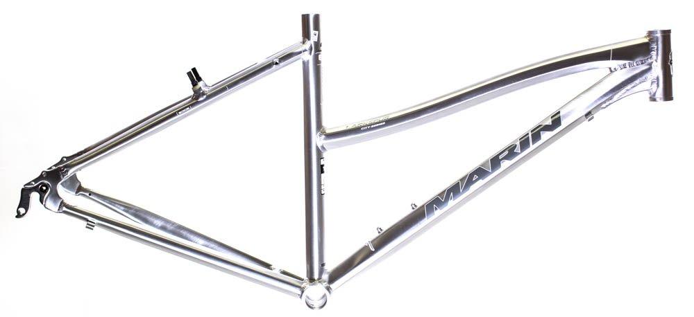 17'' MARIN LARKSPUR 700C Women's Hybrid City Bike Frame Silver Aluminum NOS NEW