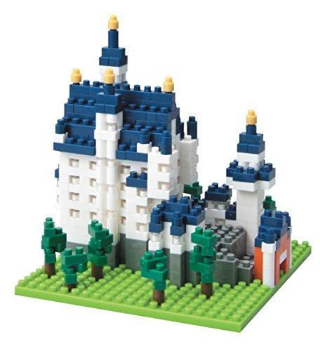 Nanoblock Architecture - Cinderellas Castle (Neuschwanstein Castle)