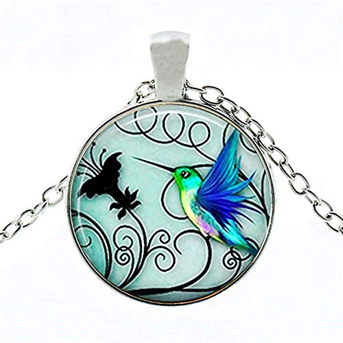 VWH Natural Turquoise Carved Butterfly Pendant Bohemian Women's Bracelet Jewelry ()