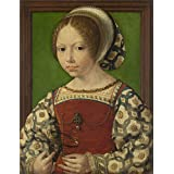 Oil painting 'Jan Gossaert A Young Princess (Dorothea of Denmark) ' printing on polyster Canvas , 8 x 10 inch / 20 x 26 cm ,the best Gym decoration and Home decoration and Gifts is this High Resolution Art Decorative Canvas Prints