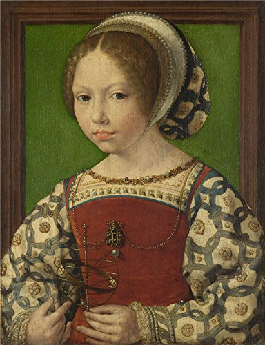 Oil Painting 'Jan Gossaert A Young Princess (Dorothea Of Denmark)', 24 x 31 inch / 61 x 79 cm , on High Definition HD canvas prints is for Gifts And Bar, Bed Room And Garage Decoration