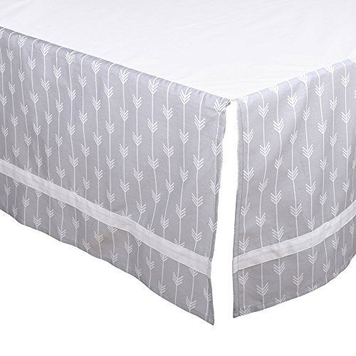 Grey and Orange Woodland Friends 3 Piece Crib Bedding Set by The Peanut Shell by The Peanut Shell (Image #3)