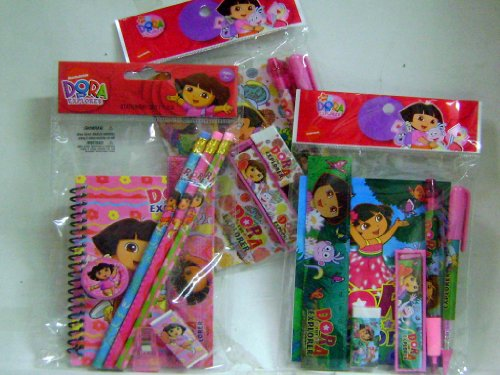 Super Cute Dora Stationery Set 3 (Cute Dora)